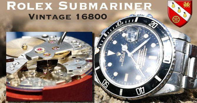 Vintage Rolex Submariner – 1980 Submariner 16800
