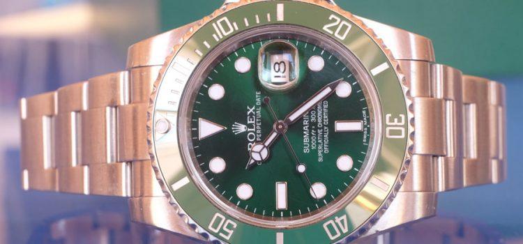 Rolex Submariner – Hulk (Reference 116610LV)