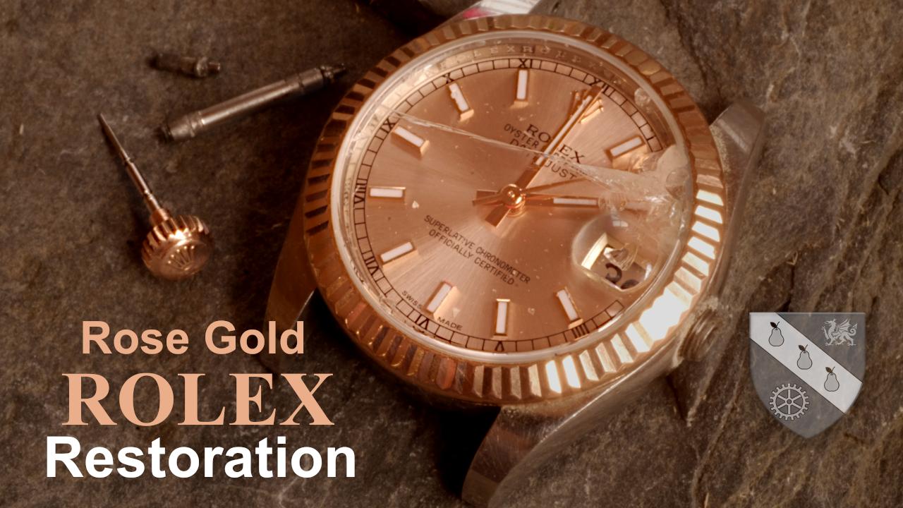 Pink Gold Rolex Image